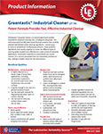 LE's 2110 Greentastic® Industrial Cleaner Info