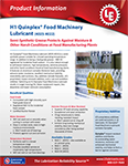4022-4025 Quinplex® Food Machinery Lubricant Info