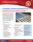 LE's 4032 & 4046 Quinplex® Synthetic Food Grade Oil Info