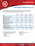 LE's 4941-4943-4945-4946 All-Purpose Turbine Oil Info