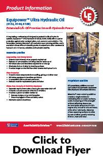 LE Hydraulic Oils || LUBRICATION TECHNOLOGIES