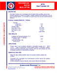 LE's 6733 Heat Transfer Oil Info