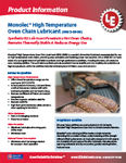 LE's 9965 Monolec® High Temperature Oven Chain Lubricant Info