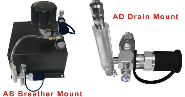 CheckFluid AB Breather Mount AD Drain Mount