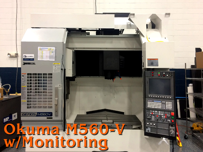 OKUMA M560-V    LUBRICATION TECHNOLOGIES