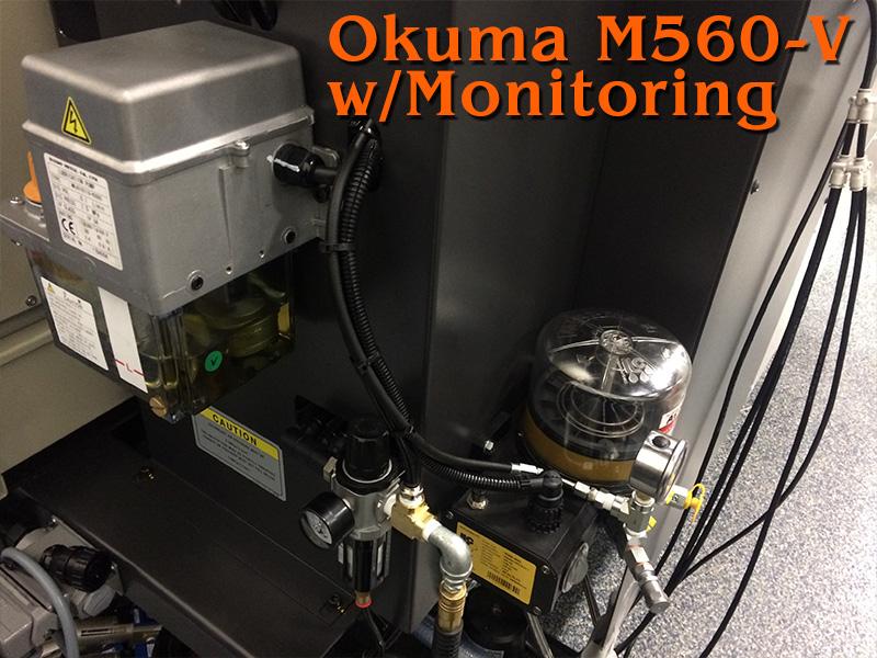 OKUMA M560-V || LUBRICATION TECHNOLOGIES