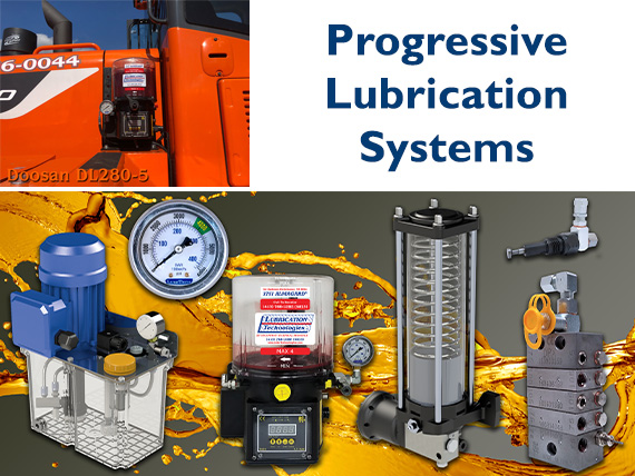 auto lubrication progressive single-line systems